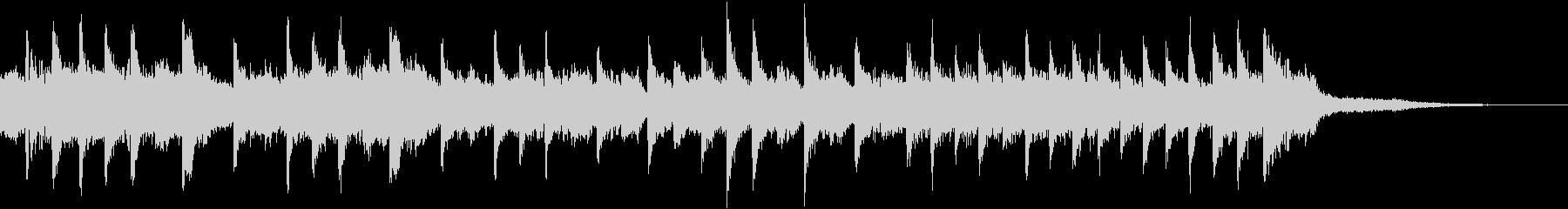 ホラー系アレンジのラフマニノフ「鐘」の未再生の波形