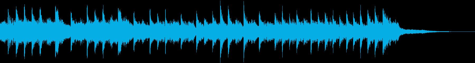 ホラー系アレンジのラフマニノフ「鐘」の再生済みの波形