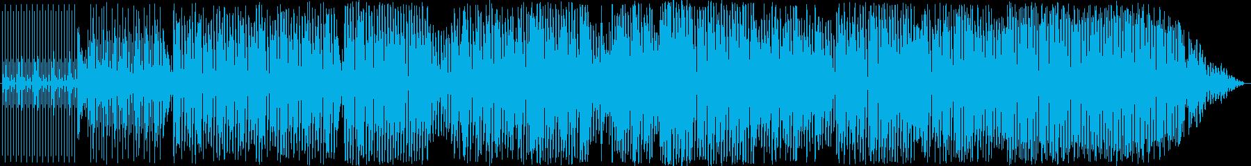 ハウスクラビングの再生済みの波形