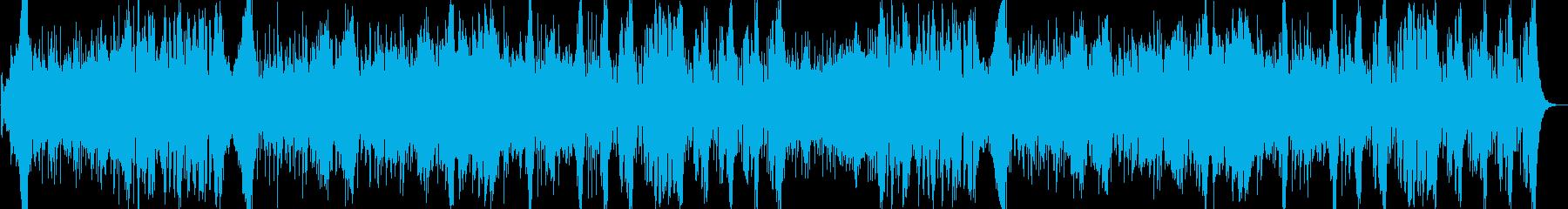 オーケストラバトル曲の再生済みの波形