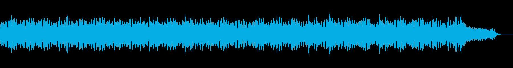 爽やかなピアノとストリングスの曲ですの再生済みの波形