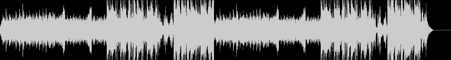 リラックスできるピアノのBGMの未再生の波形