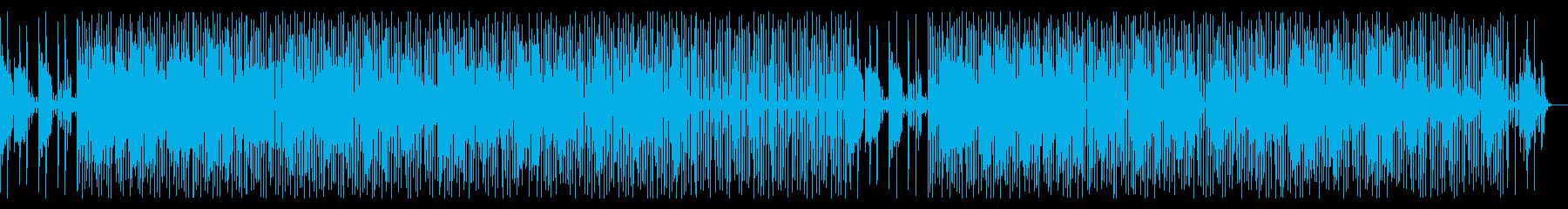 安らぎ・心地良く幻想的・メロウなビートの再生済みの波形