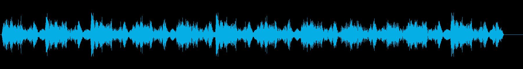 アンビエンス、段階的チョッピングフ...の再生済みの波形