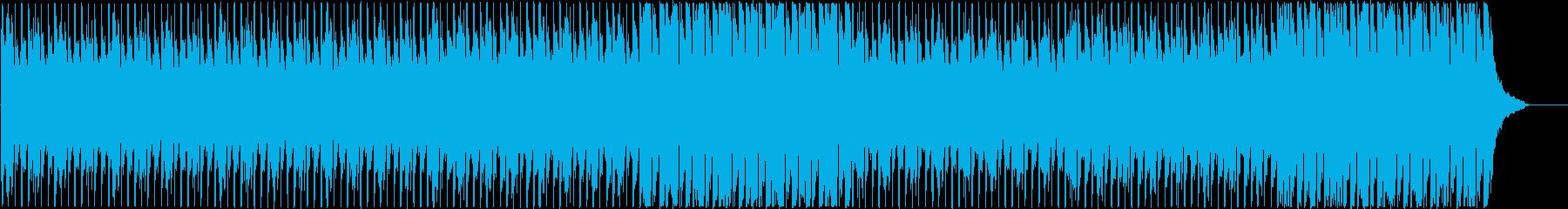企業VPなどに 鮮やか・爽やかな楽曲の再生済みの波形