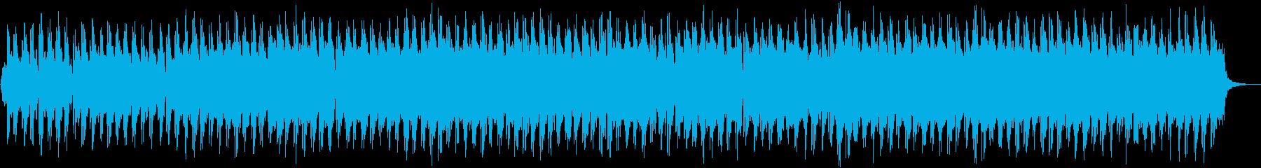 哀愁のあるオリジナルボサノバ曲の再生済みの波形