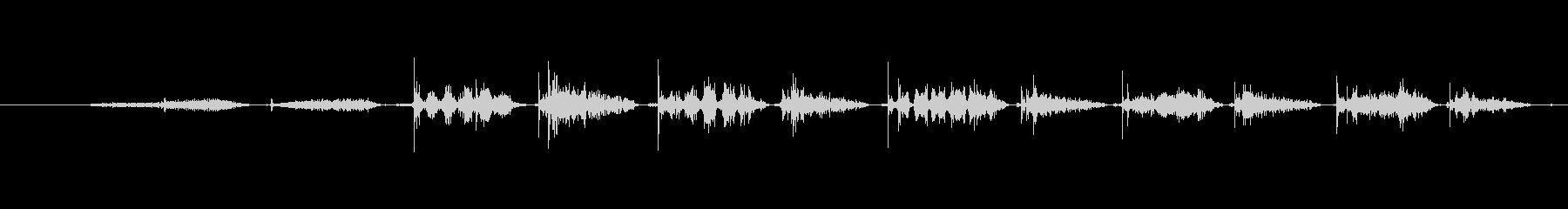 犬 パグパンツ03の未再生の波形