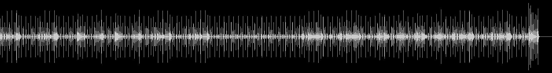 トーク・会話・かわいい・楽しいの未再生の波形