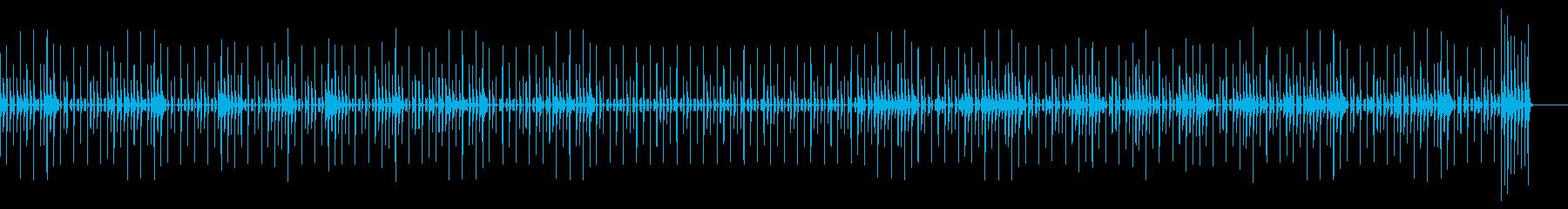 トーク・会話・かわいい・楽しいの再生済みの波形
