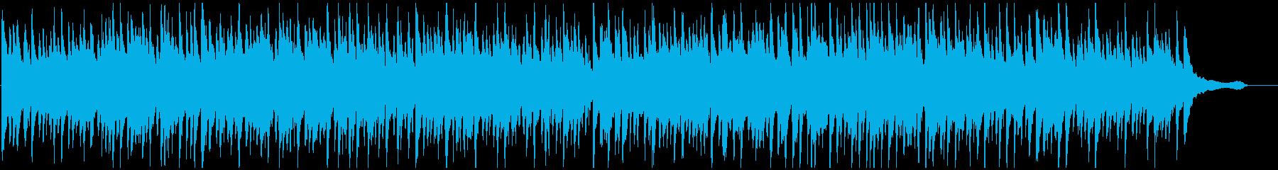 ハワイの海の雰囲気 テナーウクレレ生演奏の再生済みの波形