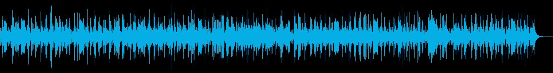 悲しくて切ない生音ボレロギターバンドの再生済みの波形