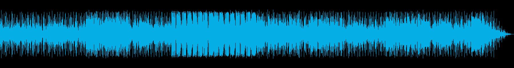 ベースの旋律が印象的なバラードの再生済みの波形