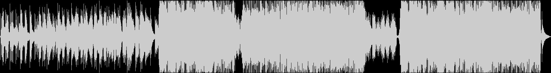 ファンタジーなバラードの未再生の波形