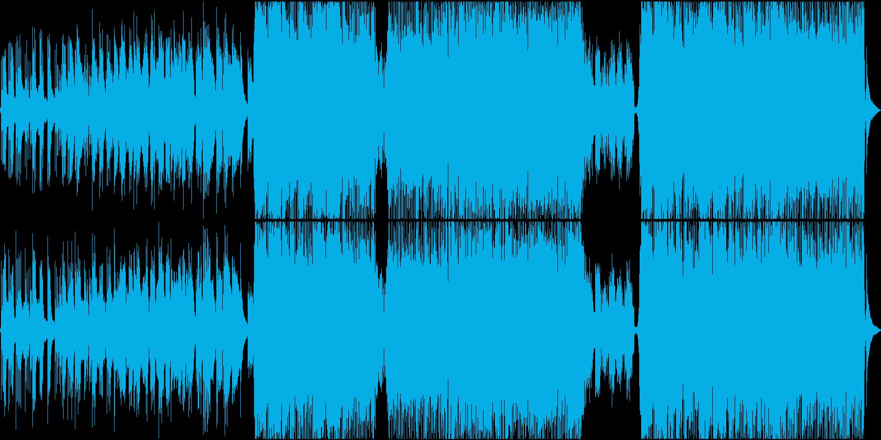 ファンタジーなバラードの再生済みの波形