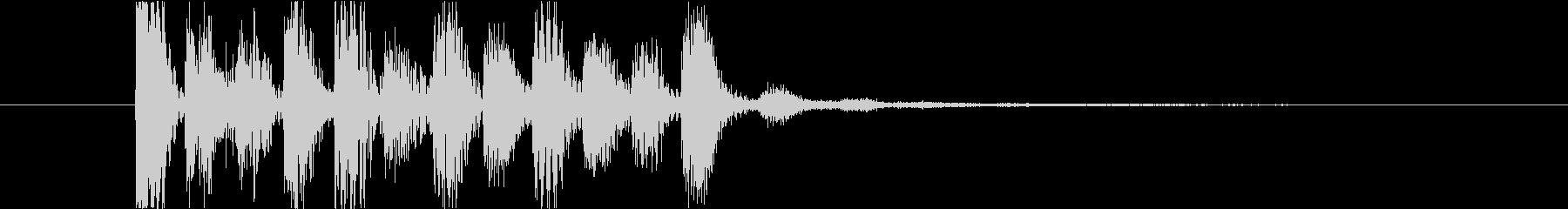レベルアップなどに使える上昇音の未再生の波形
