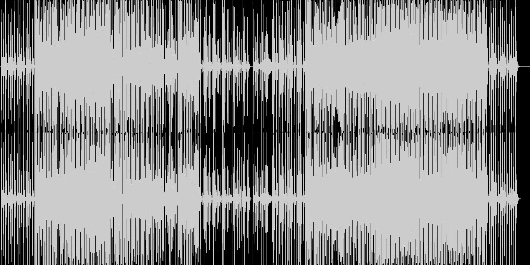 ★星や雪が舞う7拍子エレクトロニカの未再生の波形