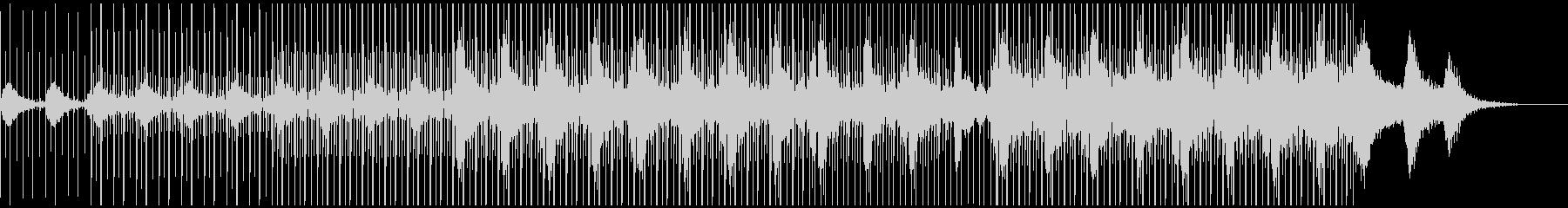 BOC風ローファイ・エレクトロニカの未再生の波形