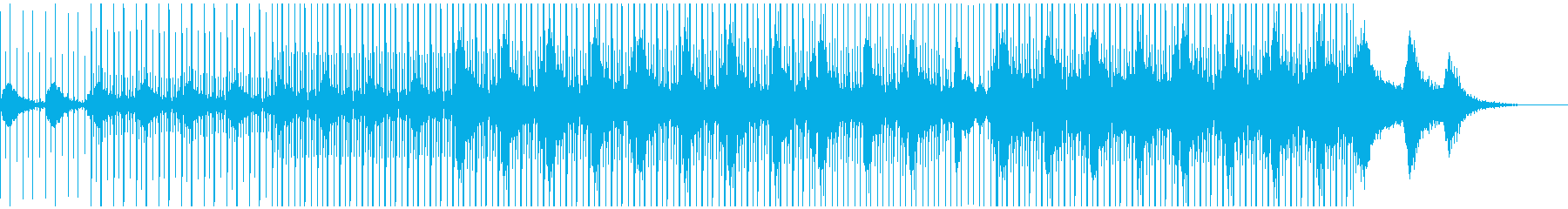 BOC風ローファイ・エレクトロニカの再生済みの波形
