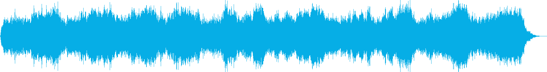 ヒーリング向けの優しく壮大なアンビエントの再生済みの波形