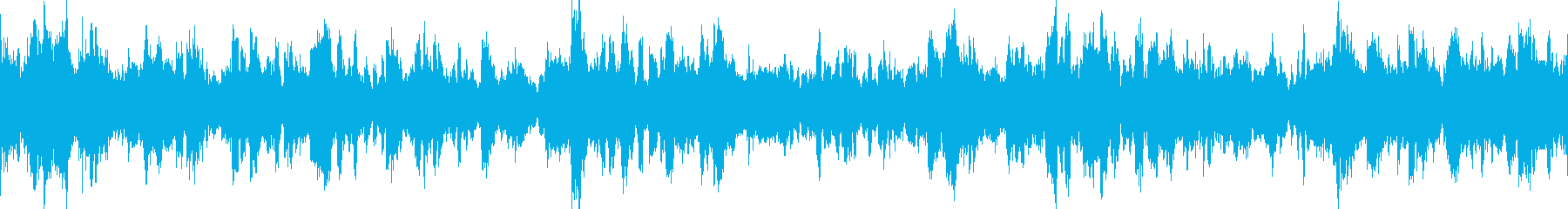 コンピューターの暴走【ループ可】の再生済みの波形