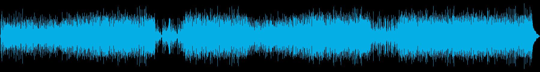 サンバのグルーヴにトランペットとフ...の再生済みの波形