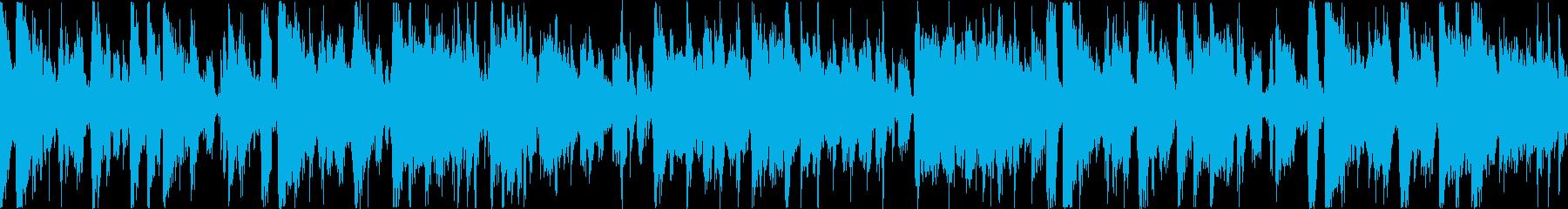 クールでリズミカルなファンクトラックの再生済みの波形