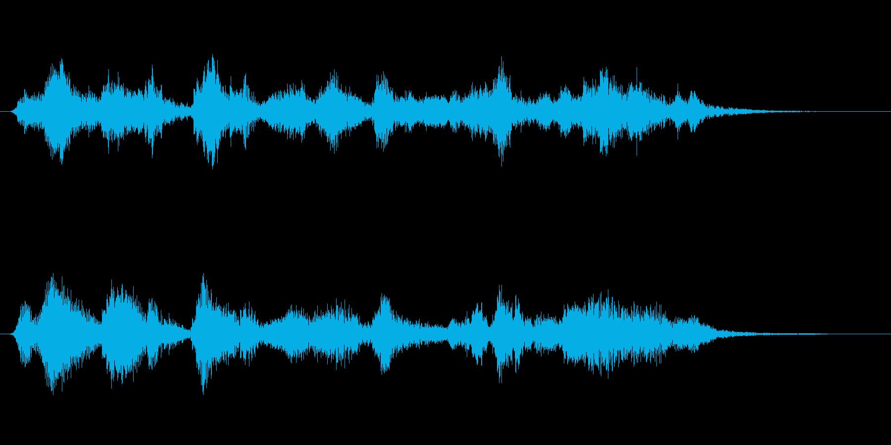 ジャズクラリネット・話題転換ジングルの再生済みの波形