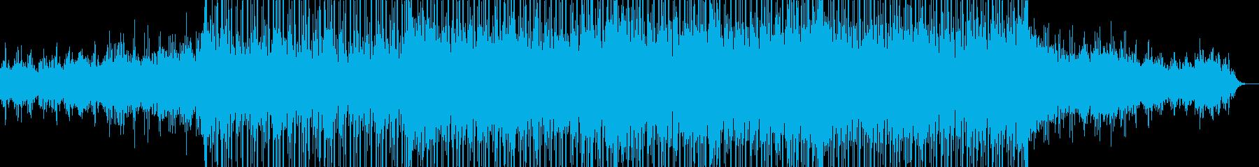 哀愁感と幻想感のあるチルアウトサウンドの再生済みの波形