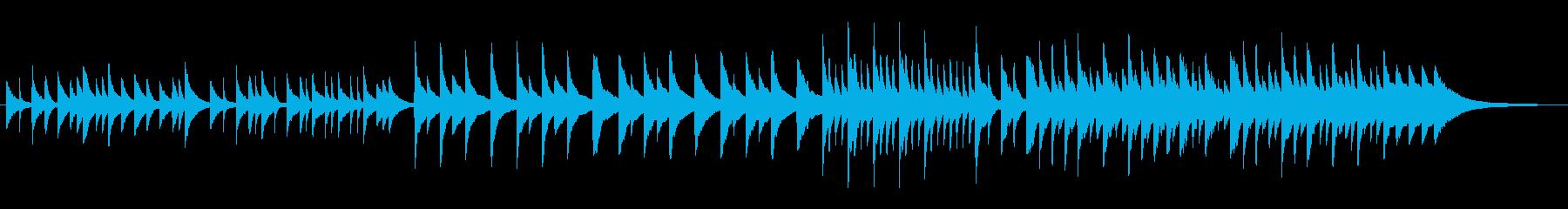 バージンロードを歩くイメージのピアノ曲の再生済みの波形
