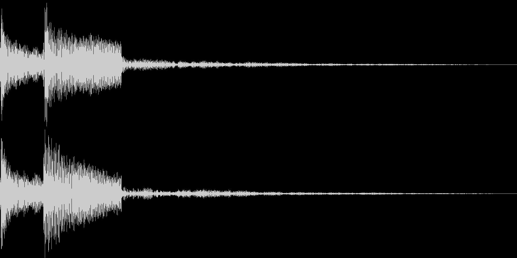 パラン(01_クリック_05)の未再生の波形