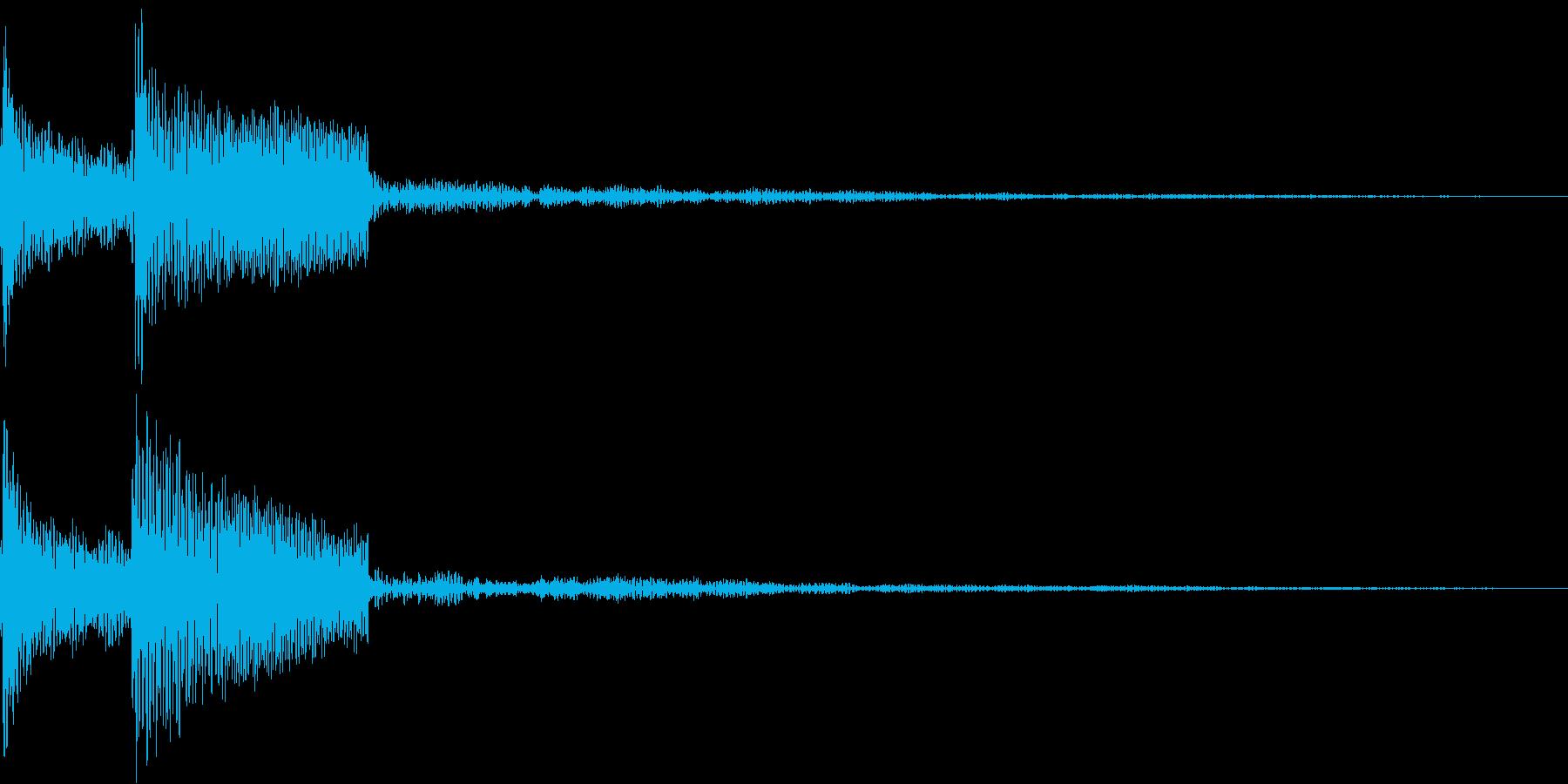 パラン(01_クリック_05)の再生済みの波形