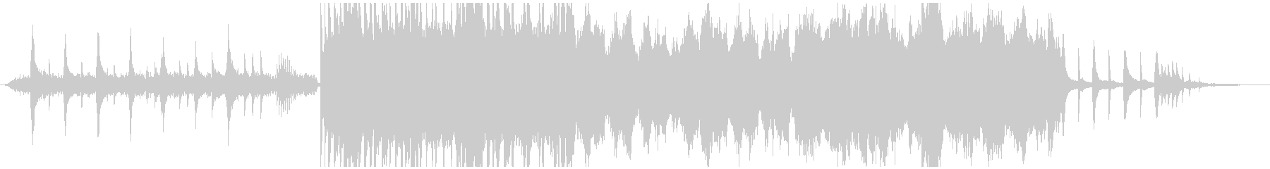 ピアノとストリングスの感動壮大バラードの未再生の波形