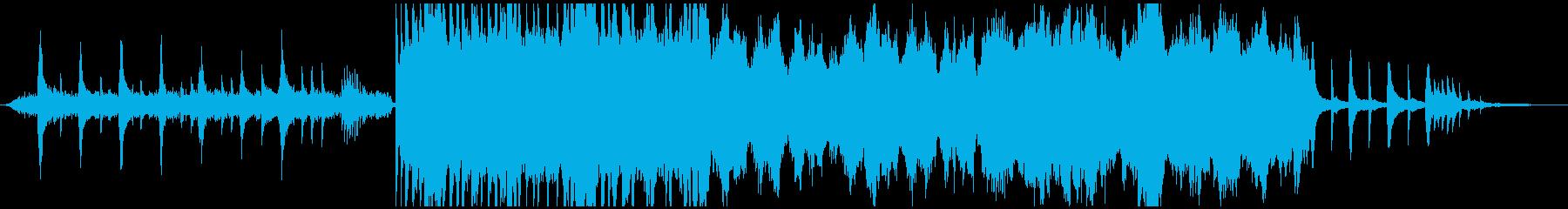 ピアノとストリングスの感動壮大バラードの再生済みの波形