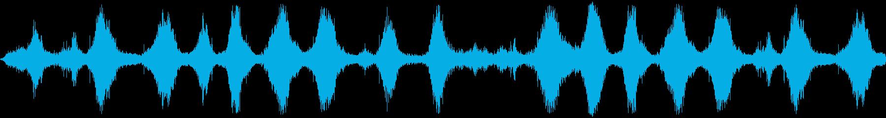 波、ソフトロールDIGIFFECT...の再生済みの波形