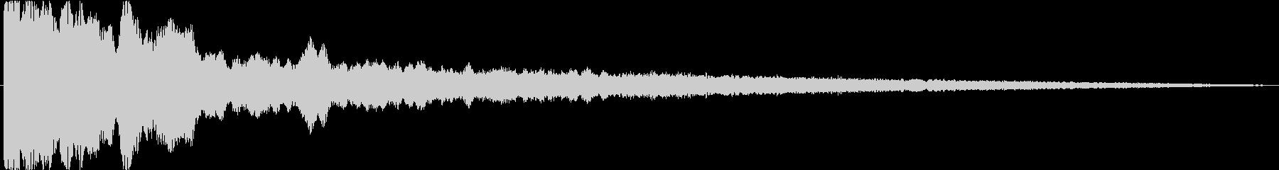 決定音・心情・驚きのある場面効果音の未再生の波形