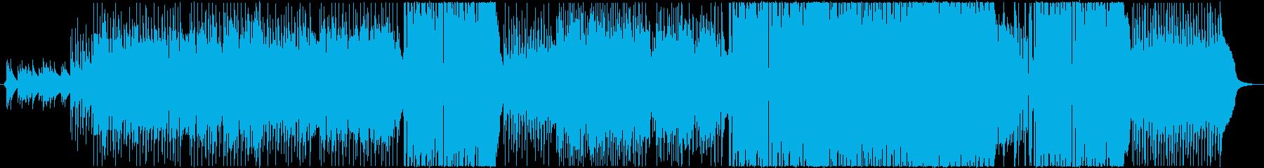 黒魔術のフロマージュの再生済みの波形