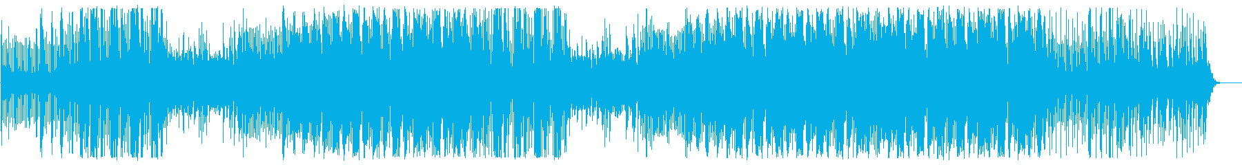 東アジアテイストのゆったりロックの再生済みの波形