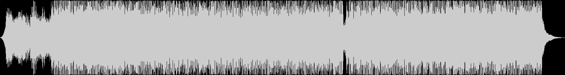 和楽器のカッコいいテクノの未再生の波形