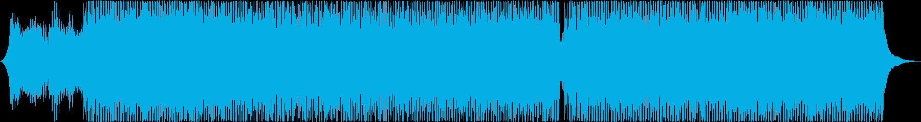 和楽器のカッコいいテクノの再生済みの波形