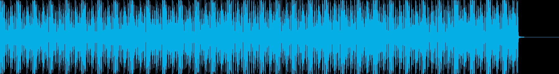 企業VPやニュース向け無機質インストの再生済みの波形