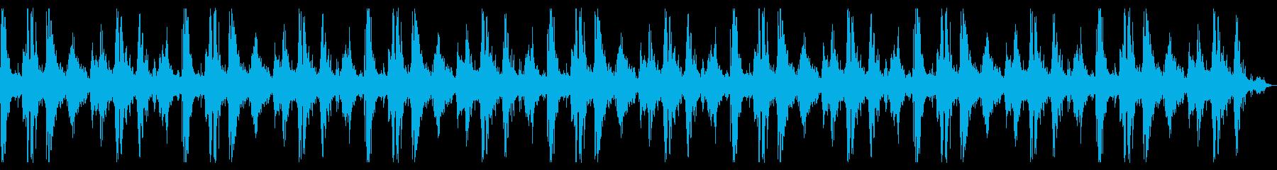 ヘビーランニングオンサンド、ループドの再生済みの波形