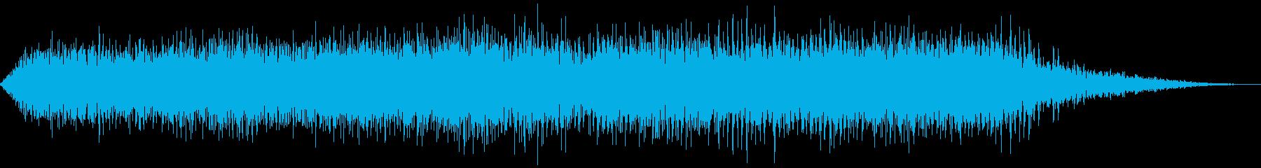 ヘリコプター着陸(2枚羽根)の再生済みの波形