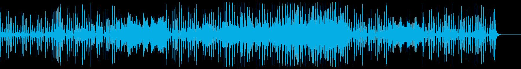 モダンで爽やか知的-企業CM、商品紹介の再生済みの波形