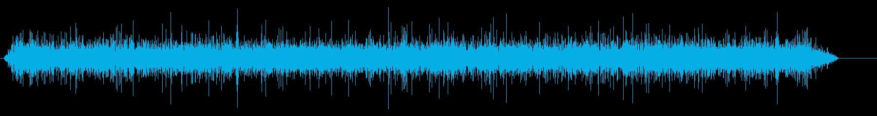 小さな流れ、流れるの再生済みの波形