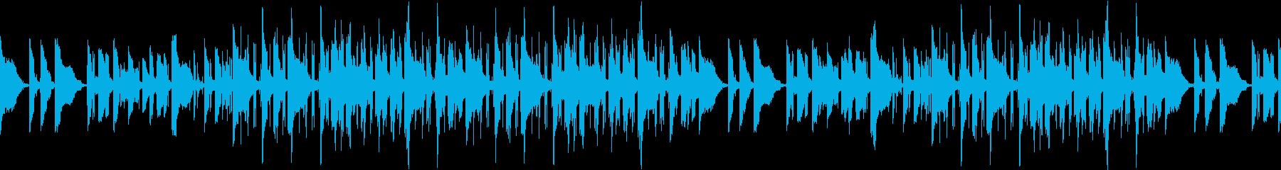 チルアウト・カフェ・お洒落・ギターの再生済みの波形
