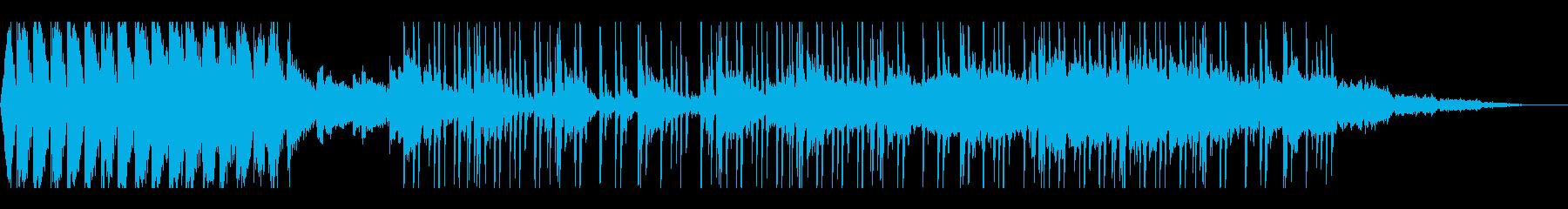 エレクトロニカトラックは、ハートビ...の再生済みの波形