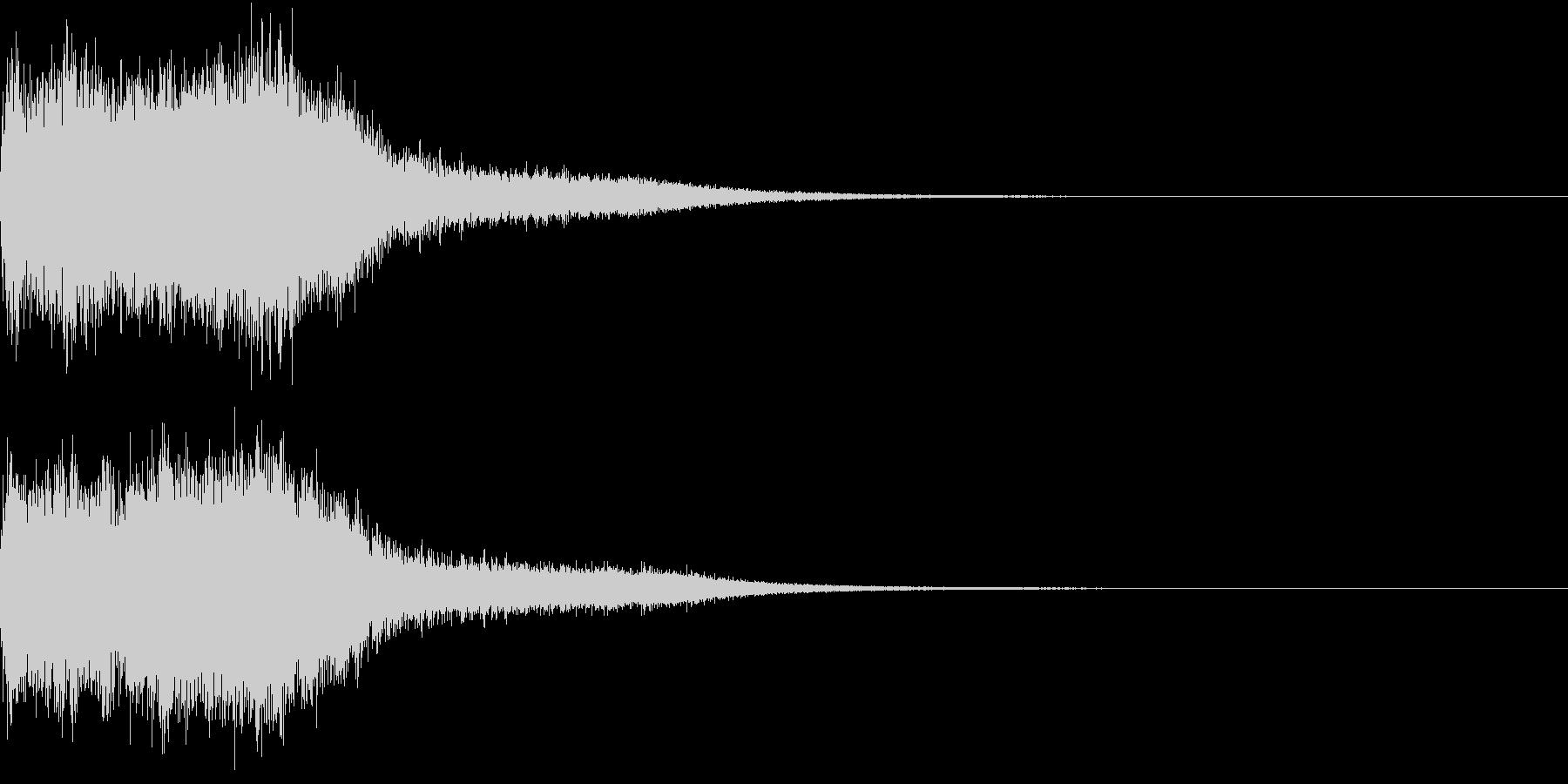 ファンファーレ オーケストラ 豪華 2の未再生の波形