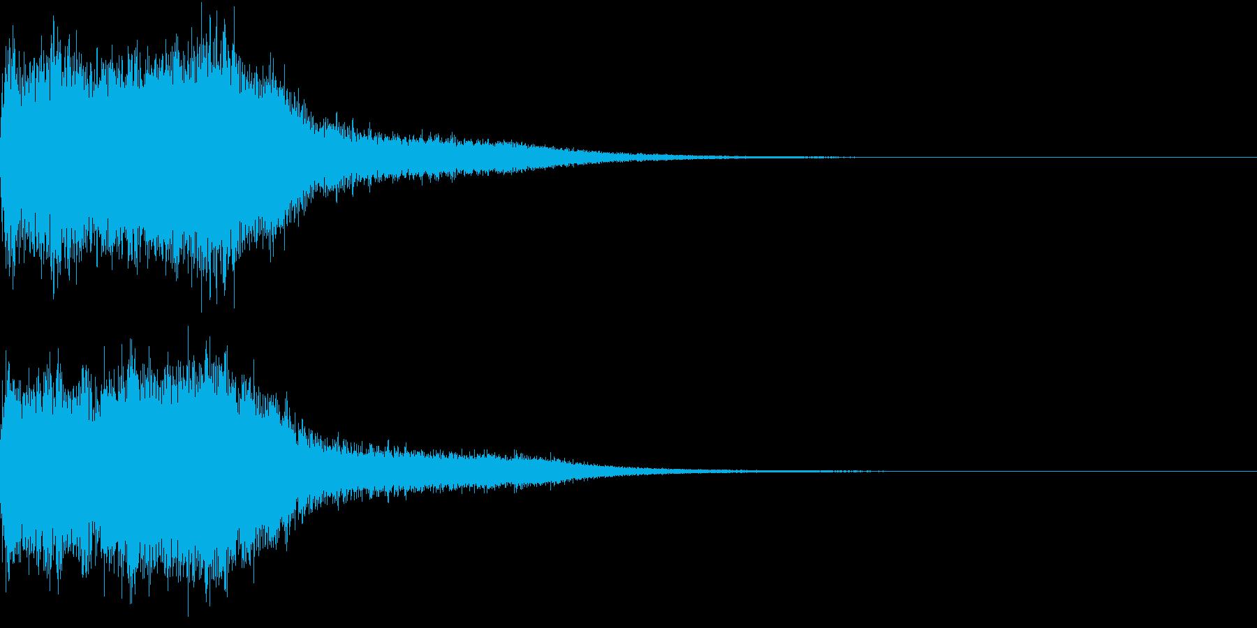 ファンファーレ オーケストラ 豪華 2の再生済みの波形