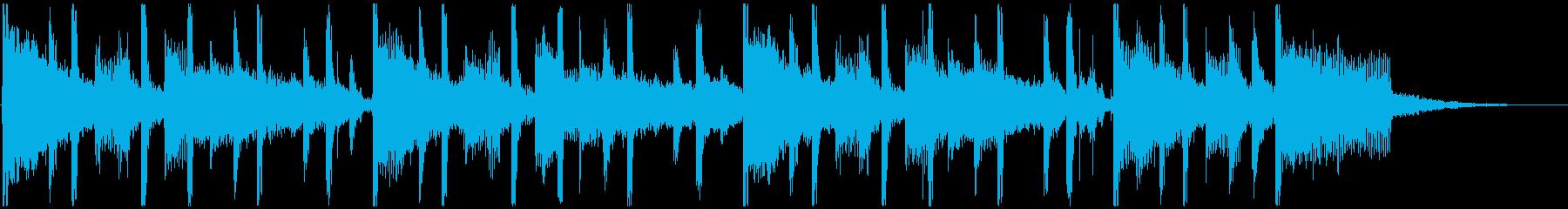 コーナータイトル_コスメ系の再生済みの波形