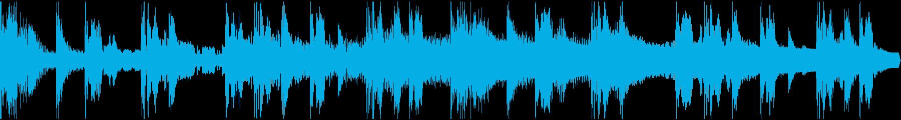 【エレクトロニカ】ロング3、ショート2の再生済みの波形